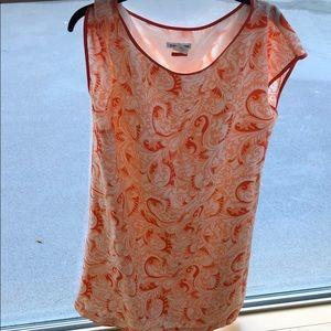 Club Monaco orange print dress